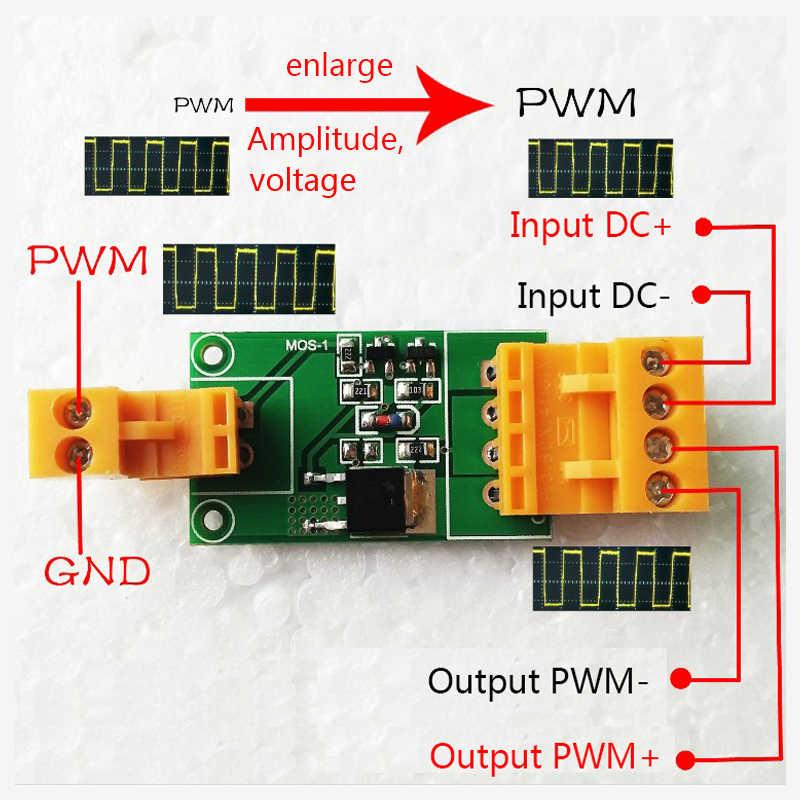 Трубкой Mos/модуль FET/PWM регулирования мощности/усиление модуль драйвера DC3.3/5/12/24 V