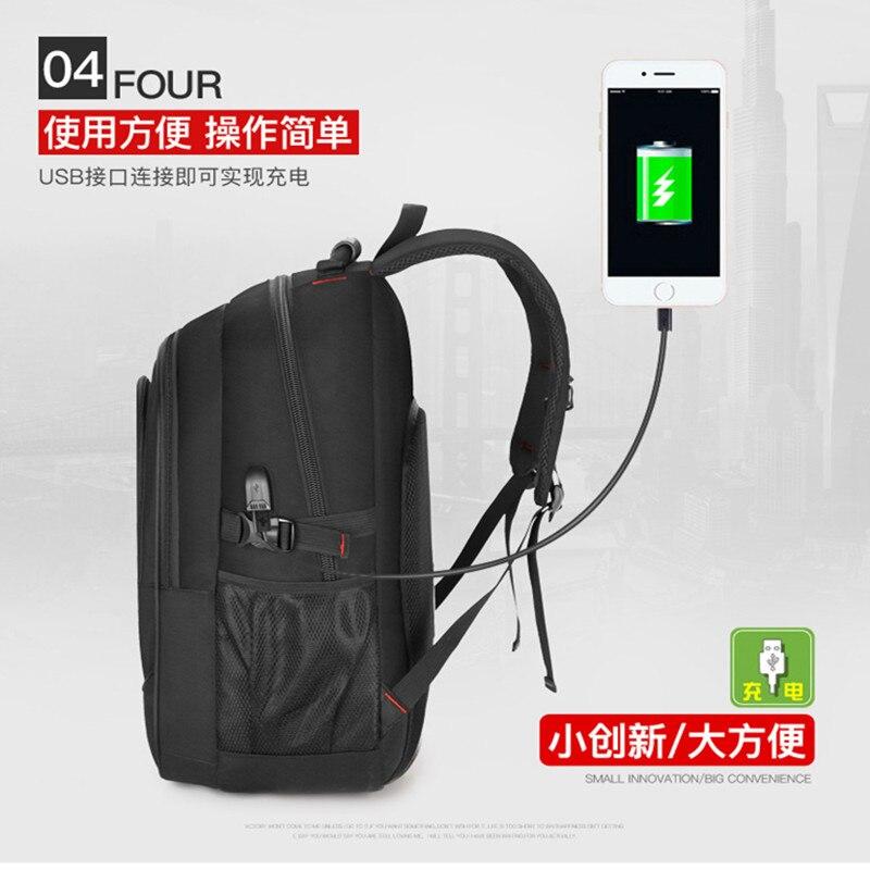 Menino suíço bolsa para laptop escola bagpack Multifuncional 17 polegada homens usb À Prova D' Água Mochila de Viagem dos homens de Nylon bagpack Saco um Dos mochila