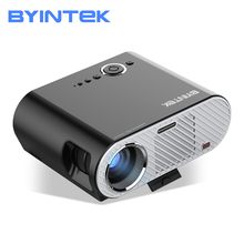 BYINTEK MOON GP90up android Smart Version 8.1 OS Cinema Full HD Video LED HD 1080P Home Theater Projector цена