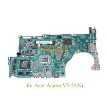 laptop motherboardFor acer aspire V5-552G DA0ZRIMB8E0 REV E NBMCU11001 NB.MCU11.001 Mainboard ddr3