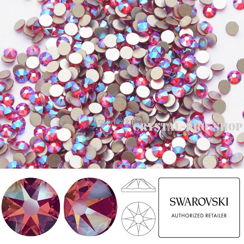 NEW Effect Swarovski Elements Light Siam Shimmer ( 227 SHIM ) ( ss5 - ss30 ) dcc7e46e21c8
