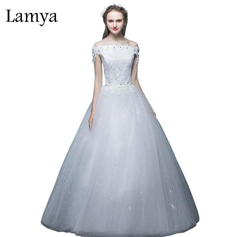LAMYA New Arrival Fashion Wedding Dresses Women Bridal Gown ...