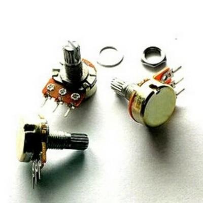 10 PCS WH148 KIT Linear Potentiometer Pot single joint 1K 2K 5K 10K 20K 50K 100K 250K 500K 1M  EACH  1PCS