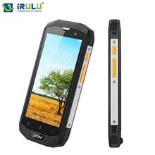 Nouveau agm a8 5.0 pouce téléphone portable pour qualcomm msm8916 quad core android 7.0 4G LTE Mobile Téléphone 3 GB 32 GB NFC OTG GPS 4050 mAh IP68