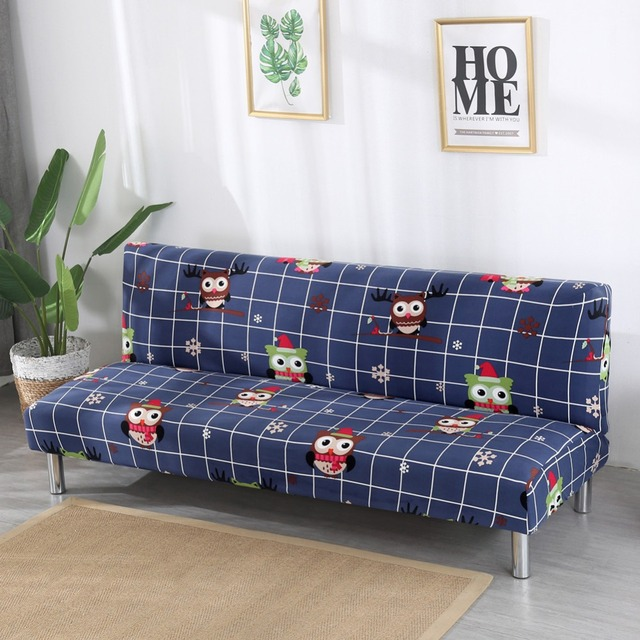 US $16.2 48% OFF|Big Elasticity Couch Cover Universal Sofa Cover Furniture  Sofa Covers Without Armrest Folding Cover for Sofa Bed 1pc 155 200cm-in ...