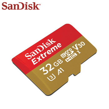 100% Original SanDisk Memory Card 32GB High Speed 100mb/s Micro SD Card U3 A1 4K UHS-1 V30 Extreme Flash Card TF Card Microsd