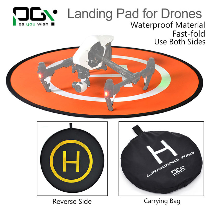 Free shipping! Landing Pad For DJI Phantom Yuneec Typhoon Parts Drone Protective Fast-fold