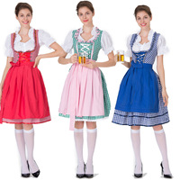 Halloween Costumes For Women Plus Size Beer Oktoberfest Fancy Party Dress Maid Outfit Costumes Cosplay Disguise Sexy Female