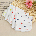 2Pcs/lot Cotton Cartoon Baby Towels Kids Face Hand Bathing Towel Bibs Feeding Square Handkerchiefs Toddler Infant Wash Cloth