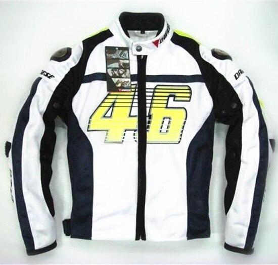 2015 Rossi 46 Mesh motorcycle Jacket Men titanium summer jacket Doctor racing Wear