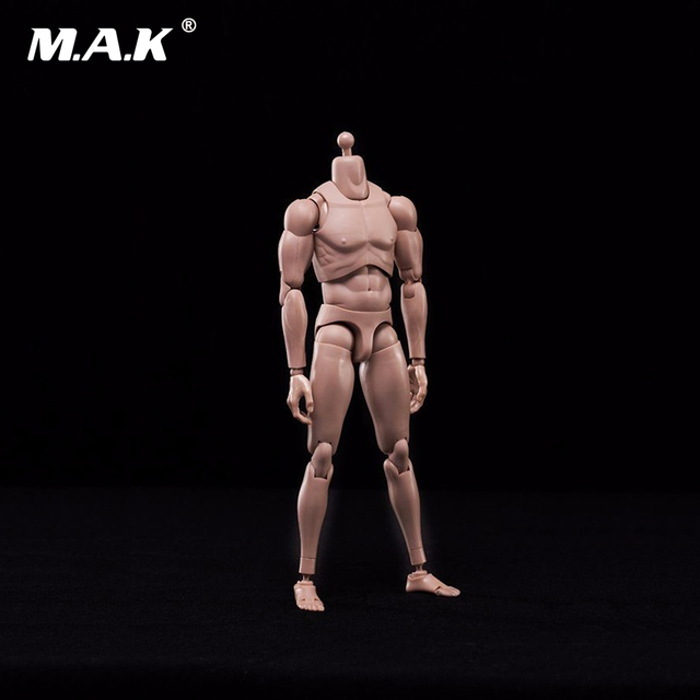 1/6 Scale Male Body with Highly Cost-Effective Edge Caucasian Skin Tone MX02-A NEW Version Model for 1:6 Scale Male Head