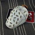 Новые Поступления Рыба Отпечатано Солнце Шапки Хип-Хоп Бейсбол Унисекс Лето Весна Шляпы Мужчины Случайный Стиль Моды Хлопок Джинсовые 4 Цветов