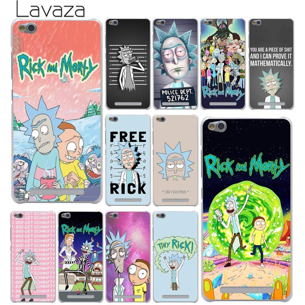 Lavaza Phone-Shell-Case Morty-Season Rick Xiaomi Mi-Redmi Pro-Plus-Cover 4 4X For 7A