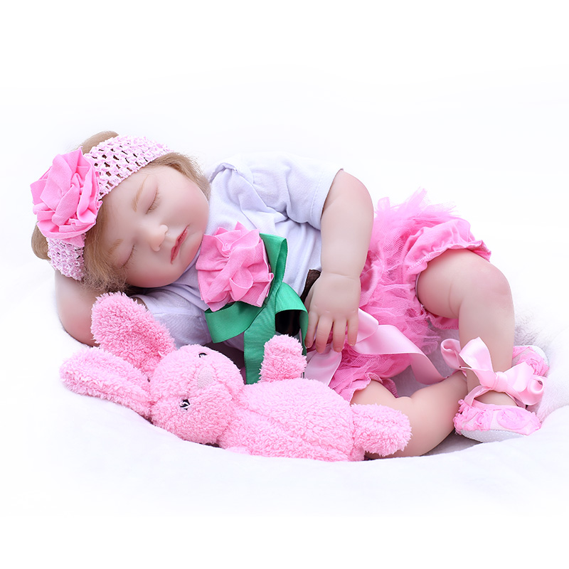 Real reborn baby toy dolls 2050cm soft silicone vinyl reborn baby girl dolls NPK bebes reborn bonecas child giftReal reborn baby toy dolls 2050cm soft silicone vinyl reborn baby girl dolls NPK bebes reborn bonecas child gift