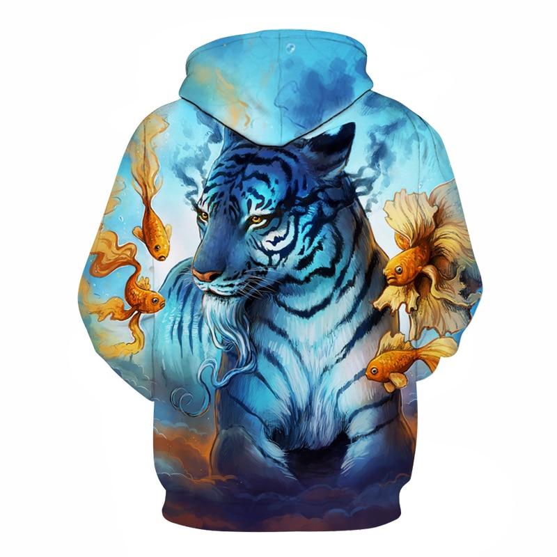 Dream Tiger 3D Hoodies  1