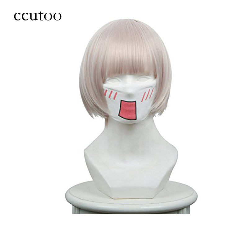 ccutoo Women s Short Layered Synthetic Full Hair Cosplay Costume Wigs Peluca Free Shipping