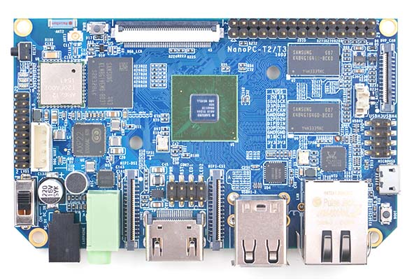 FriendlyARM NanoPC T3 Development Board A53 8 Core S5P6818 Electronic Board Ubuntu Android WiFi