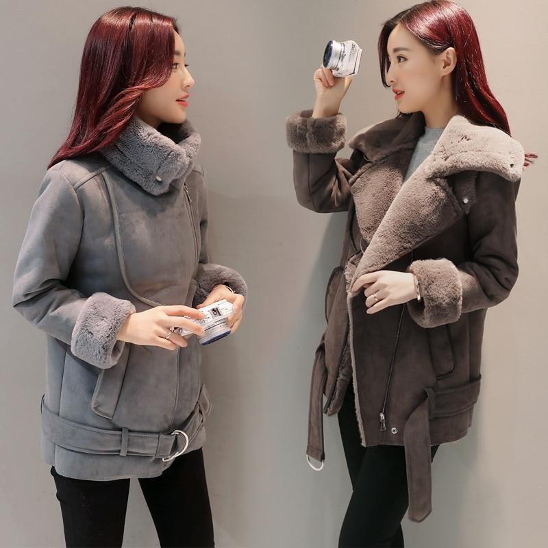 Coreano Invierno Mujeres Chaqueta Abrigos Cálido Delgado Moda 2018 xwEq7dzp0w