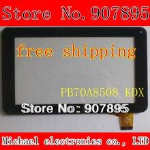7 дюймов 186X111mm емкостный сенсорный экран панели для Freelander PD10 Y7Y007 86VS ZHC-0598 ZHC-0598 H-CTP070-015 MF-309-070F-2