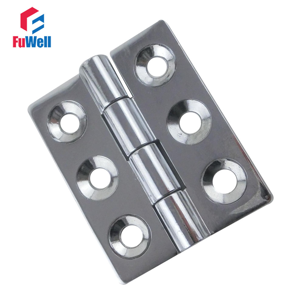 2pcs CL233-1 Door Hinge Zinc Alloy Heavy Duty Furniture Fixtures Hinges Hardware 80x65mm Cabinet Hinges Door Butt цена