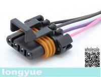 longyue 10pcs D580 LS1 LS6 Ignition Coil Pigtail female connector ACDelco PT368 FLAT 30cm wire