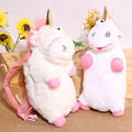 Kawaii Anime 50cm Despicable Unicorn Plush Doll Backpack Super Soft Toys Bag Stuffed PP Cutton Toy For Children Gifts