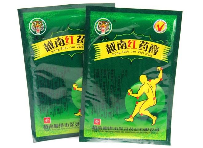New 40PCSLot Vietnam Red Tiger Balm Plaster Muscular Pain Stiff Shoulders Pain Relieving Patch Massage Relaxation Health Care-3