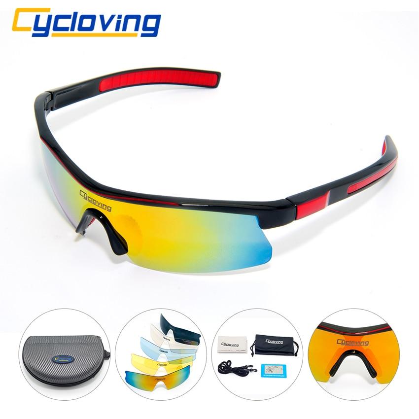Prix pour Cycloving CS59 Vélo Lunettes Sunglassess sport lunettes de soleil Hommes/Femmes TR90 Lunettes Ensemble VTT Vélo De montagne vélo lunettes