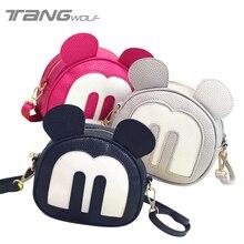 2016 neue Nette Mickey Taschen Mode frauen Schulter Messenger Bags Damen Leder Handtaschen Berühmte Marken Frauen Crossbody Taschen