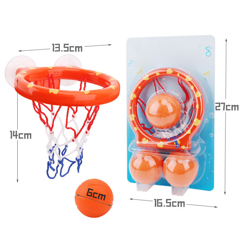 Baby Kids Bath Toys Basketball Hoop /& Ball Bathtub Water Play Sets for Toddler~