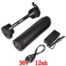 500 W 36 V Bouteille D'eau batterie 36 V 12AH vélo Électrique batterie au lithium ion batterie pack avec 15A BMS 42 V 2A chargeur livraison gratuite
