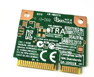 SSEA Asli Baru Atheros AR5B225 WIFI Bluetooth BT 4.0 Setengah Kartu - Peralatan jaringan - Foto 2