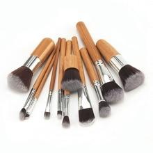 Makeup Set Professional Bamboo Handle Makeup Brushes Eyeshadow Concealer