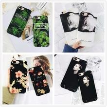 Black White Marble Phone Case iPhone 7 7 Plus 8 X