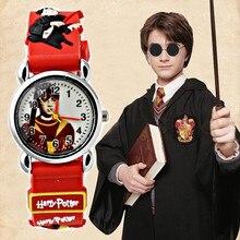 Мультфильм Гарри Поттер Дети часы водонепроницаемые Для мальчиков и девочек детей часы Спортивные кварцевые наручные ребенком детские часы armbandsur