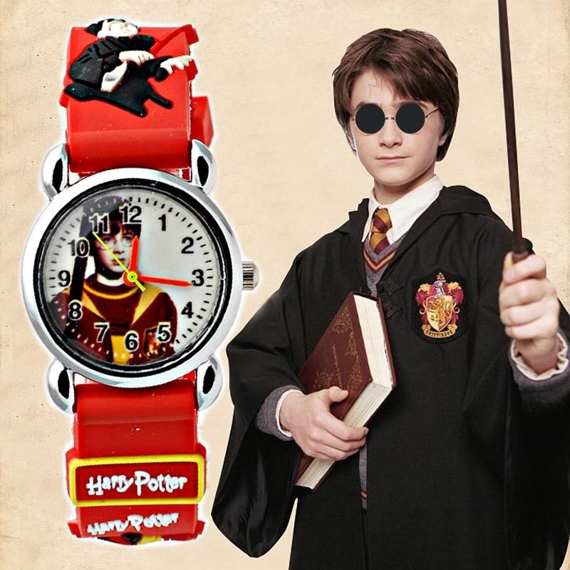 Cartoon Harry Potter kids watches waterproof boy