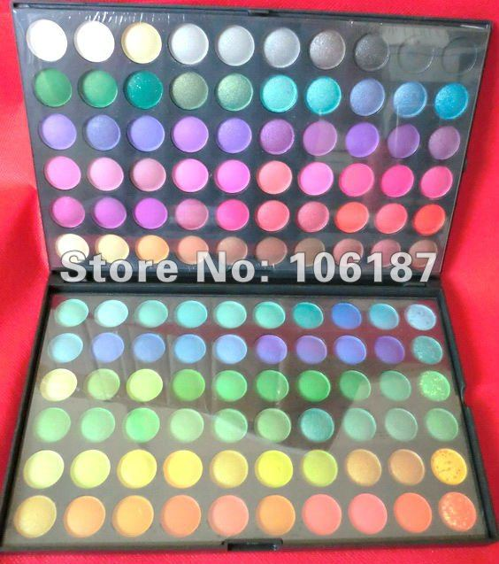 New 120 Full Color Eyeshadow Makeup Palette Gift Free Shipping,120colours eyeshadows makeup kit магнитный браслет colantotte magtitan color palette