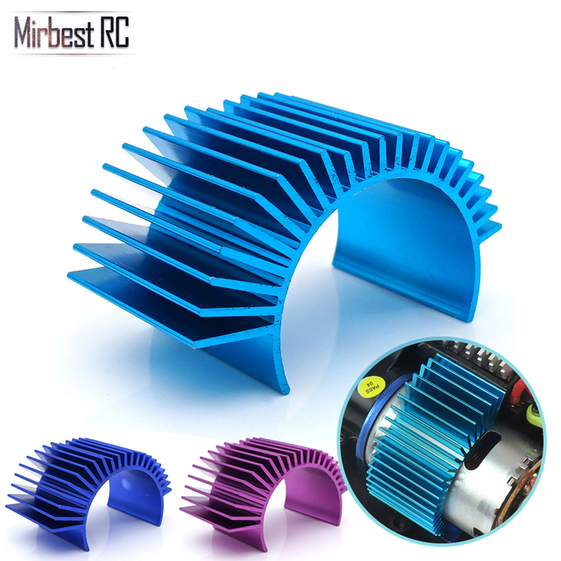 Motor Cooling Heat Sink Heatsink Top Vented 540 545 550 Size For 1/10 RC Car Buggy Crawler RC Boat HSP HPI <font><b>Wltoys</b></font> Himoto Redcat image