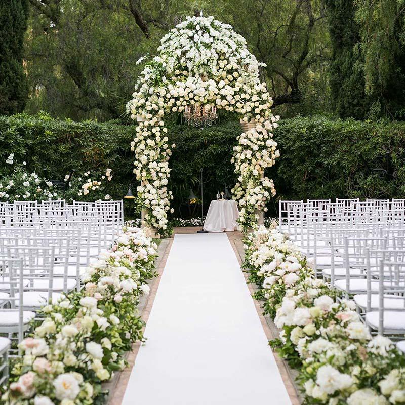 Church Wedding Carpet Decoration.10 metre Personalised WEDDING AISLE RUNNER