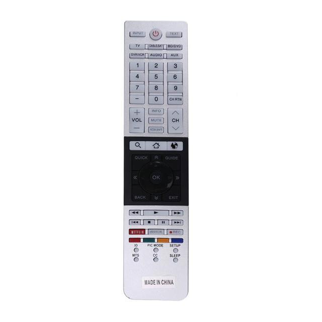 Wymiana pilota zdalnego sterowania do Toshiba CT 90430 CT 90429 CT 90427 CT 90428 CT 90444 pilot telewizyjny 4K Ultra HD