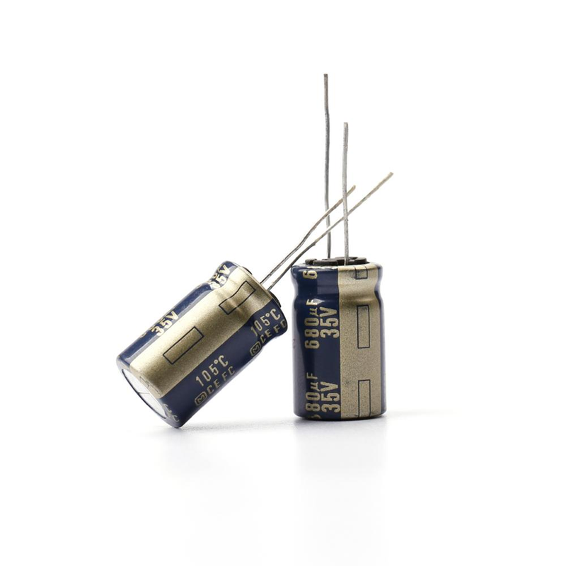 Panasonic Matsushita Electric FC Series 35v 680uf 13mmx20mm Electrolytic Capacitor High Frequency Low Impedance Capacitor