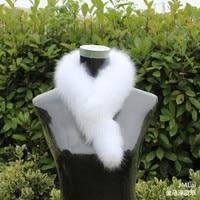 Hot Sale Thermal Fashion Fur Scarf Collar Fox Fur Muffler Scarf Fox Fur Full Leather Scarf