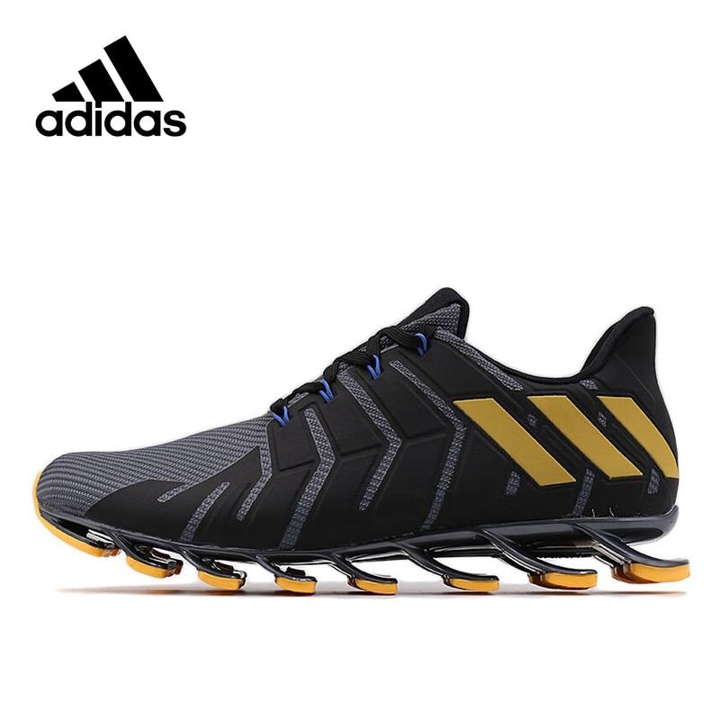 Оригинальный Новое поступление Адидас Официальный Springblade Pro M Для Мужчин's Бег дышащая обувь Спортивная обувь