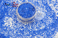 Tch310 1.0 MM tamaño 040 resistente a los disolventes compañero de colores hexágono forma glitter para esmalte de uñas, del arte del clavo u otro decoración de DIY