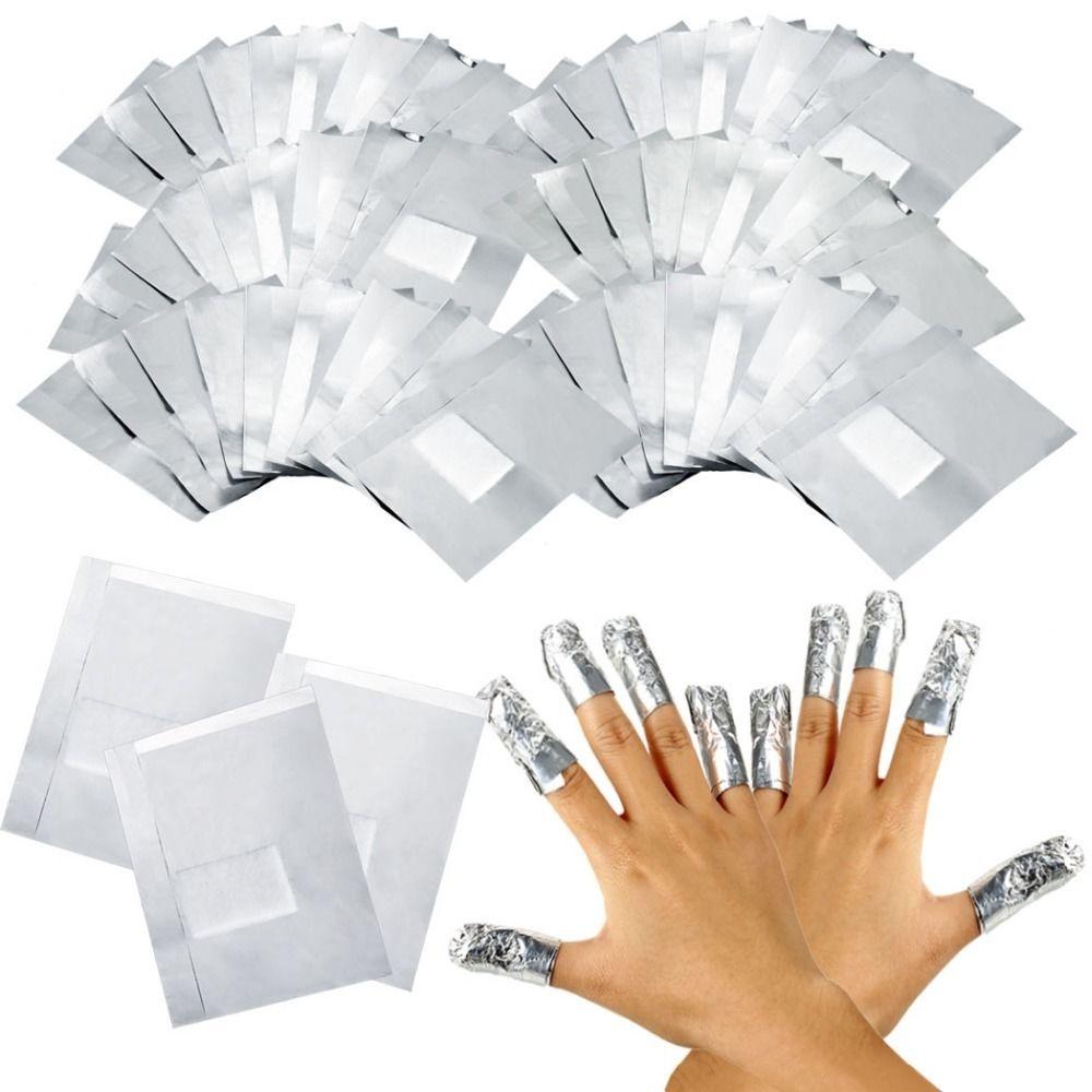 Aluminum Foil - nail remover