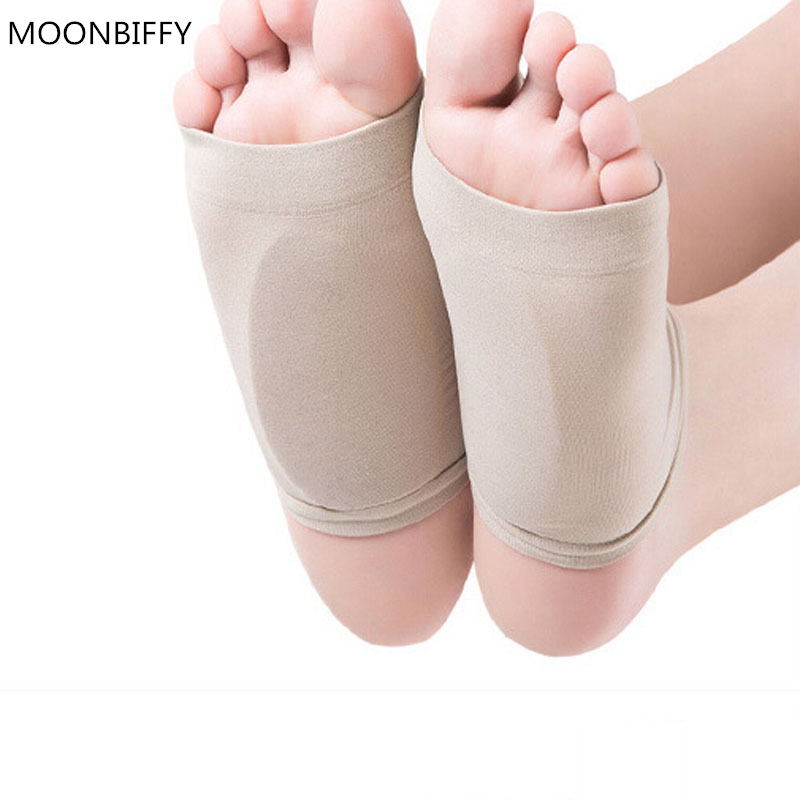 GEL Plantar Fasciitis Arch Support Sleeve Cushion Foot Pain Orthotic Heel Insole Pads