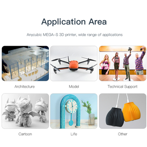 Image 3 - طابعة ANYCUBIC ثلاثية الأبعاد ميجا S ترقية i3 ميجا ABS PLA خيوط ضخمة بناء حجم الرف إطار معدني صلب impresora ثلاثية الأبعاد ستامبانتي ثلاثية الأبعاد