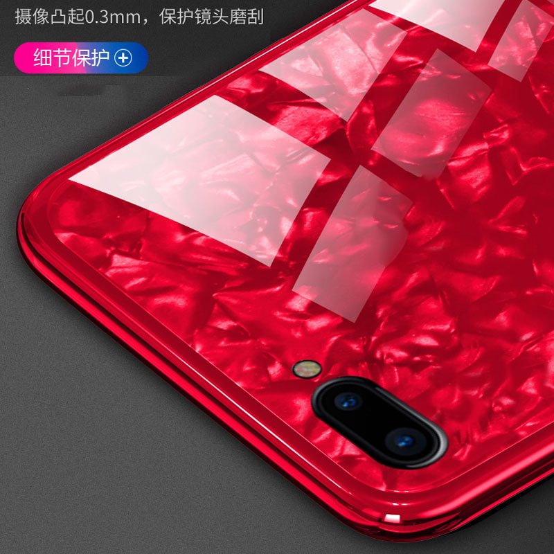 For huawei honor 10 Case TPU+PC+Tempered Glass Luxury Cover for huawei honor v10 view Shell Case Back Cover #013