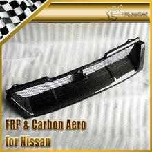 ЭПР Стайлинга Автомобилей Для Nissan Skyline R33 GTR Углеродного Волокна OEM Передняя Решетка (GTR только)