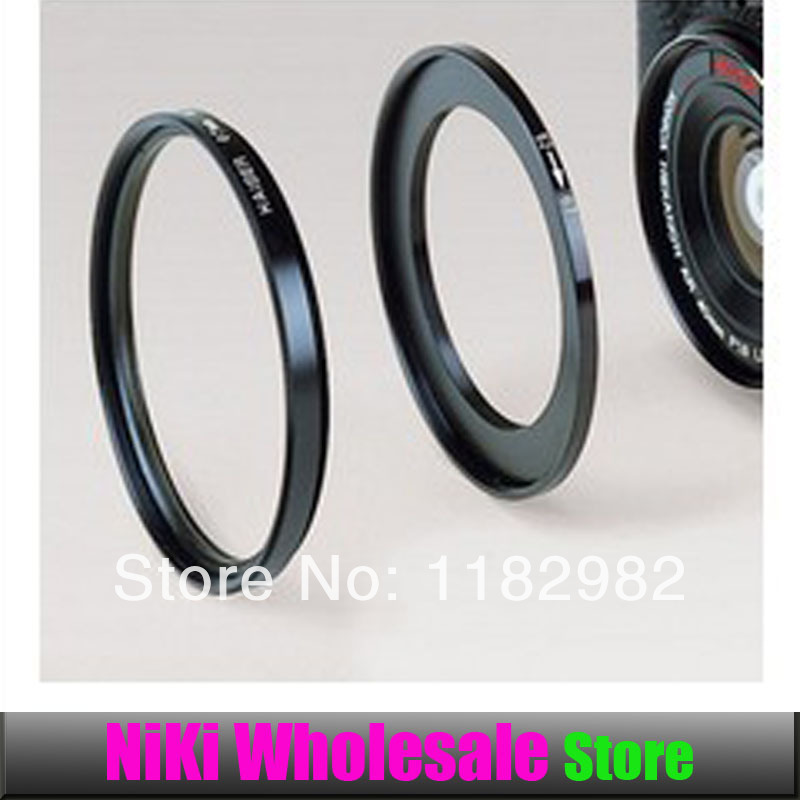 2pcs Camera Lens Filter Adapter Free Shipping Metal 62mm-67mm Step Up Filter Ring 62-67 mm 62 to 67 Stepping Adapter Black